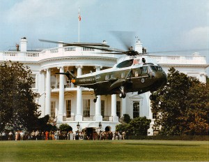 Obama White House HELICOPTER
